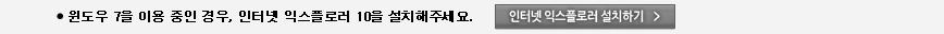 인터넷 익스플로러 10 설치하기
